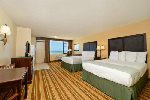 Daytona Beach Shores Double Queen Room